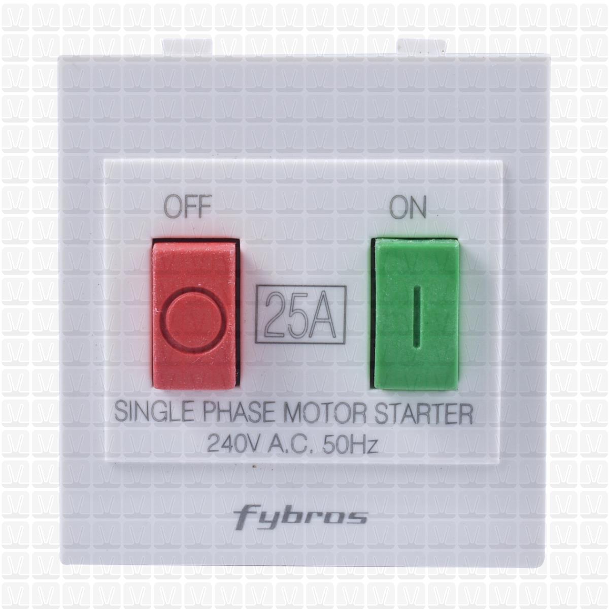 Fybros Woodem Motor Starter 2m Vardhman Shop Single Phase