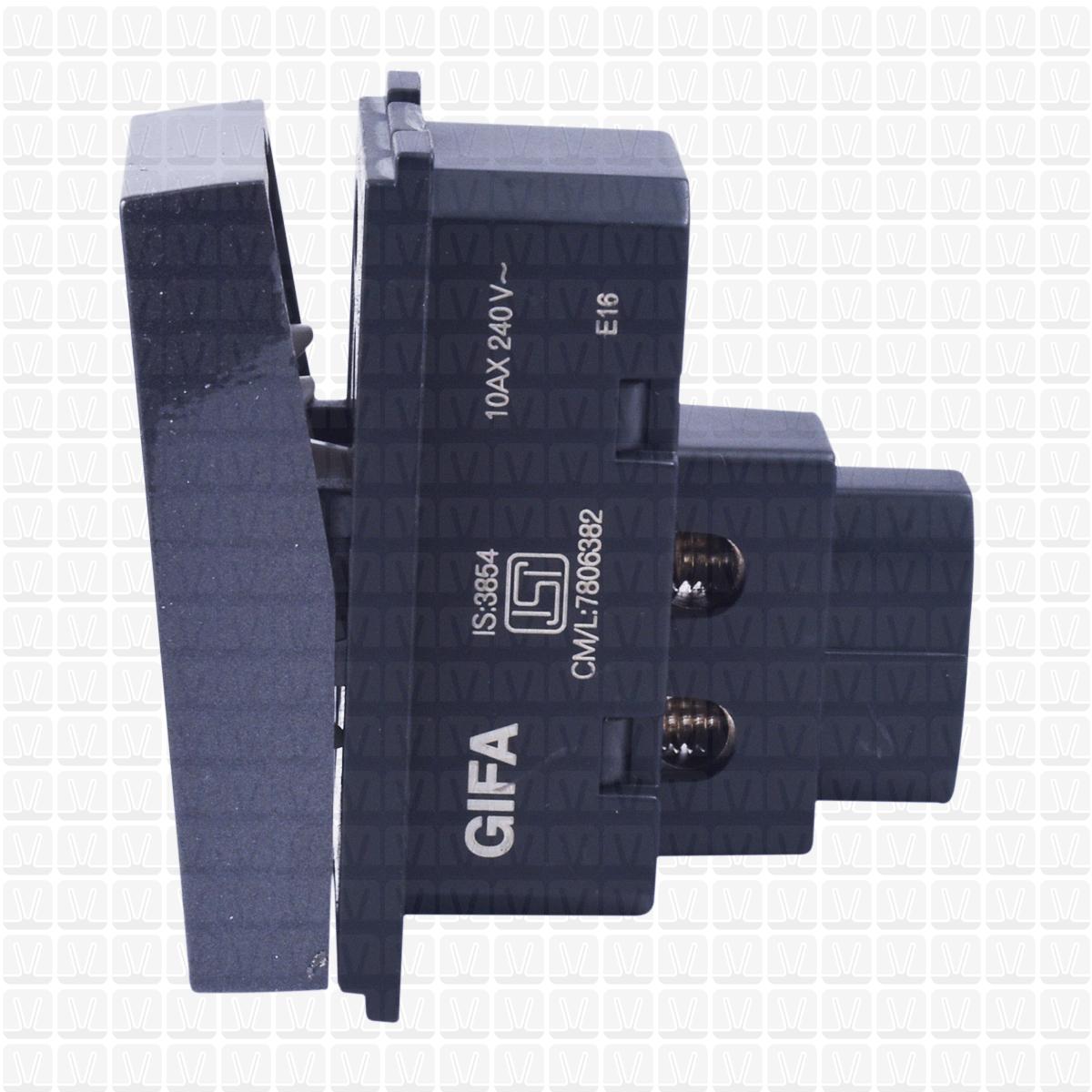 Gifa Grey One Way Switch 10 Amp Vardhman Shop Circuit