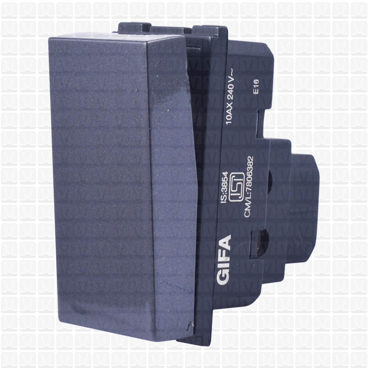 Gifa Grey One Way Switch 10 Amp Vardhman Shop Circuit