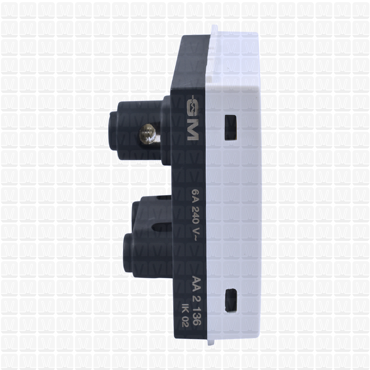 Gm White Socket 16 Amp Sockets Vardhman Shop