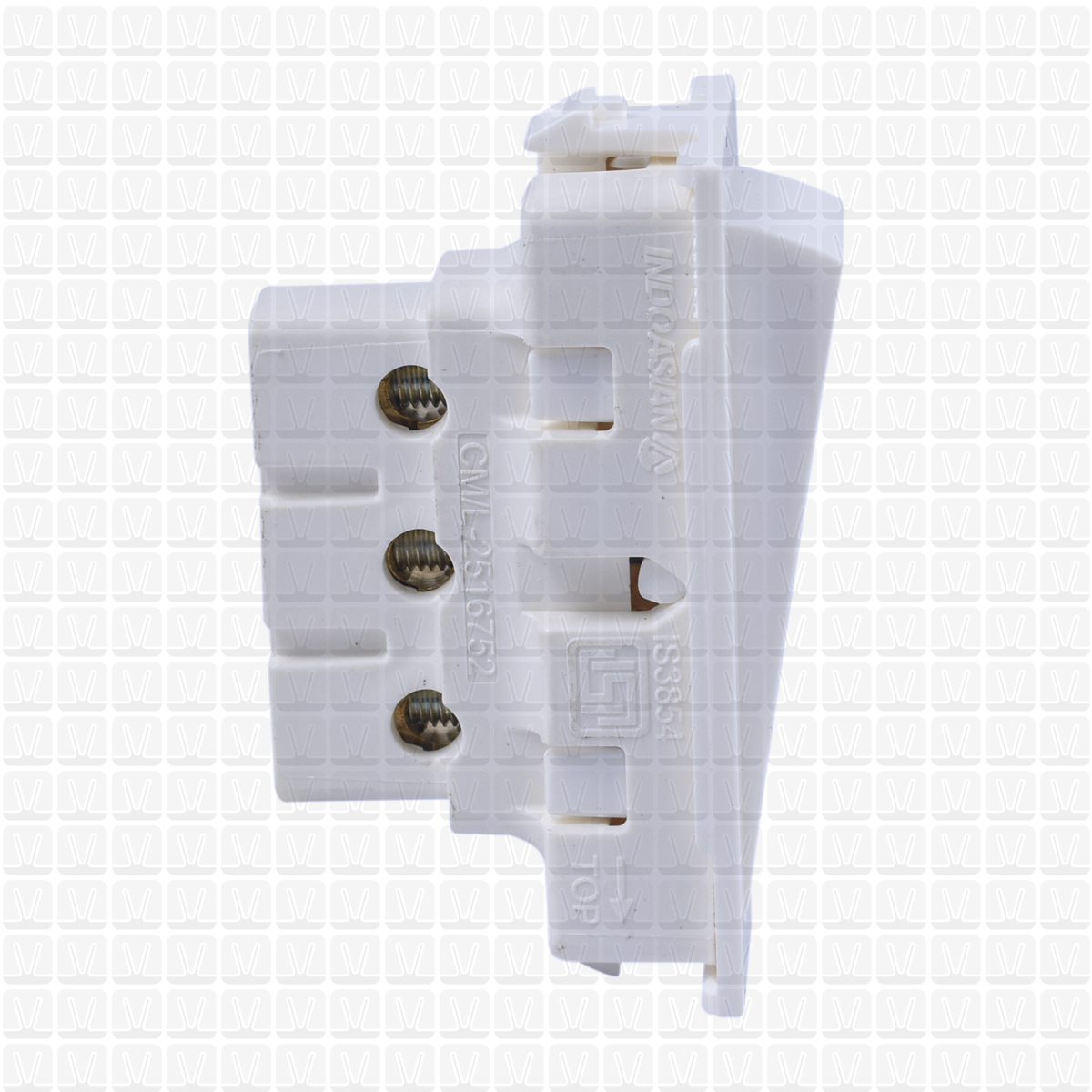 IndoAsian Elvira Two Way Switch 06 Amp | Two Way Switch | Vardhman Shop