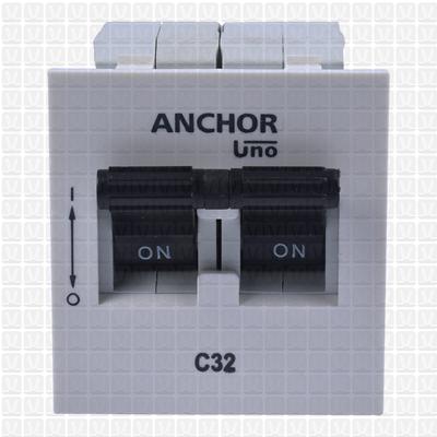 Anchor Roma MCB Double Pole