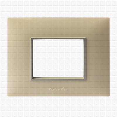 Fybros Favio Ivory Modular Plate 2M