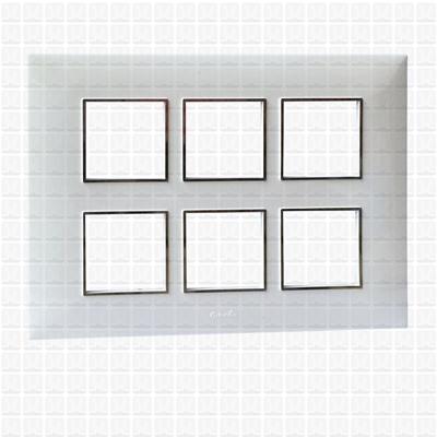 Fybros Favio White Modular Plate 12M