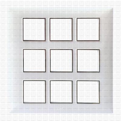 Fybros Favio White Modular Plate 18M