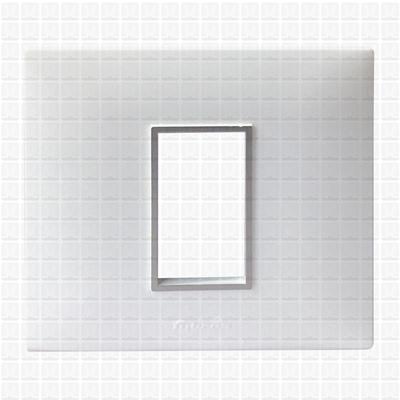 Fybros Favio White Modular Plate 1M