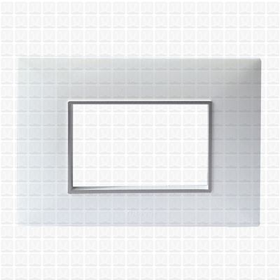 Fybros Favio White Modular Plate 3M