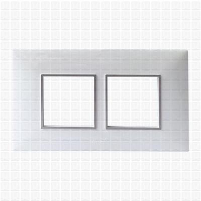 Fybros Favio White Modular Plate 4M