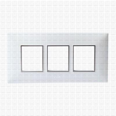 Fybros Favio White Modular Plate 6M