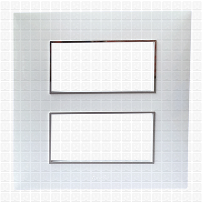 Fybros Favio White Modular Plate 8M