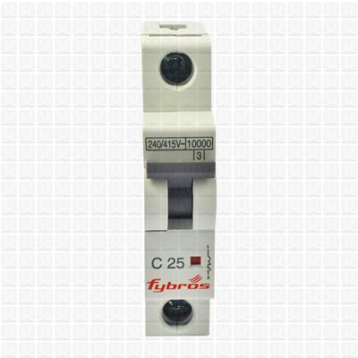 Fybros Armor 25 Amp Single Pole MCB