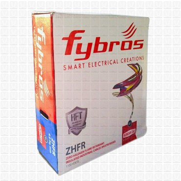 Fybros 2.5 mm Wire Yellow ZHFR (90 Mtr./Bundle)
