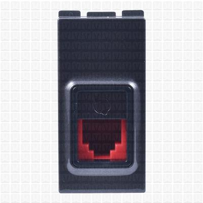 Gifa Grey Telephone Socket