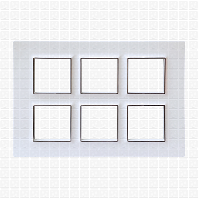 Gifa White Modular Plate 12M