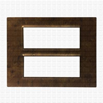 Gifa Fuzzy Brown Modular Plate 12M