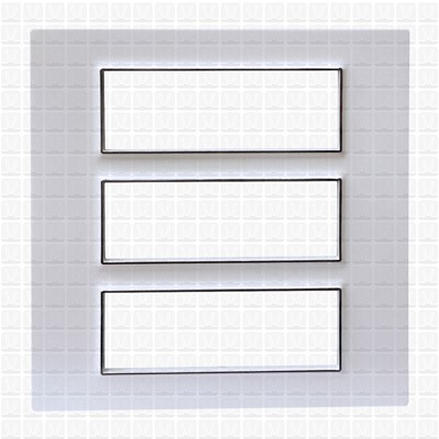 Gifa White Modular Plate 18M