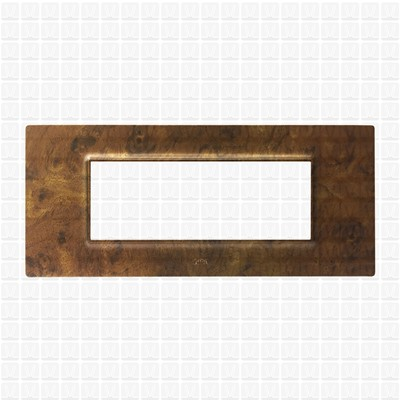 Gifa Fuzzy Brown Modular Plate 6M
