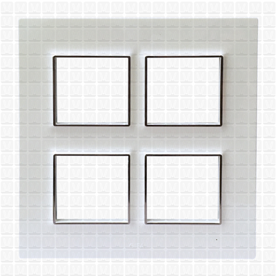 Gifa White Modular Plate 8M