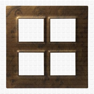 Gifa Fuzzy Brown Modular Plate 8M