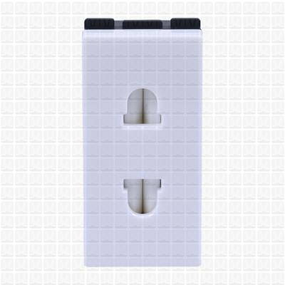 Gifa White 2-Pin Socket