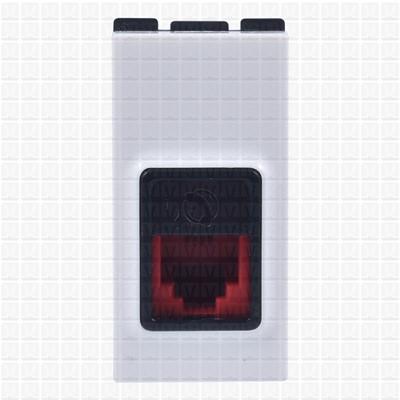 Gifa White Telephone Socket