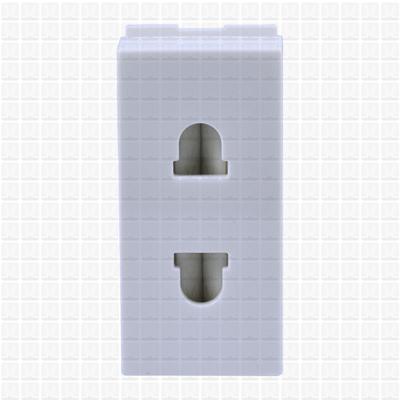 GM White 2-Pin Socket