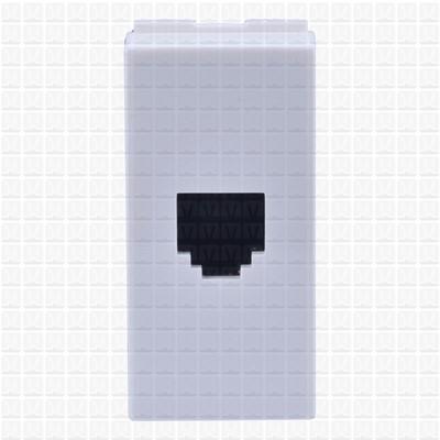 GM White Telephone Socket