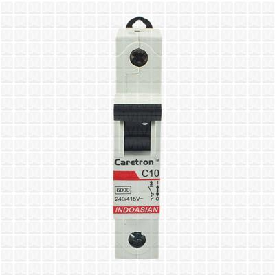 Caretron 10 Amp Single Pole MCB