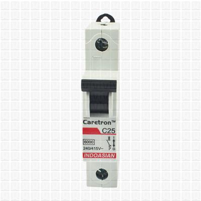 Caretron 25 Amp Single Pole MCB