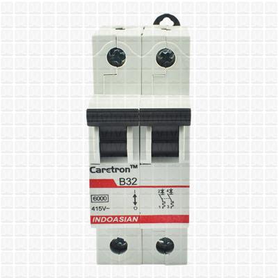 Caretron 32 Amp Double Pole MCB