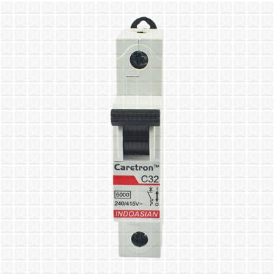 Caretron 32 Amp Single Pole MCB