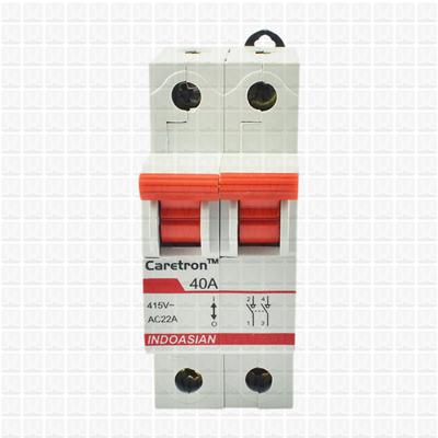 Caretron 40 Amp Double Pole Isolator