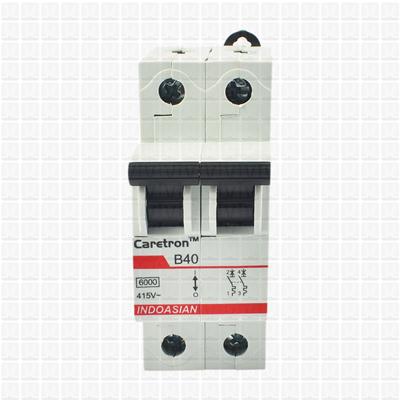 Caretron 40 Amp Double Pole MCB