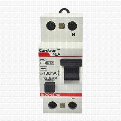 Caretron 40 Amp Double Pole 30 mA RCCB