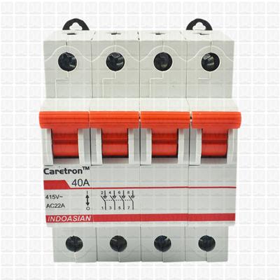 Caretron 40 Amp Four Pole Isolator