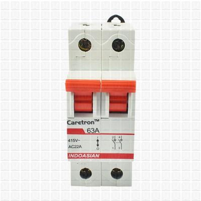 Caretron 63 Amp Double Pole Isolator