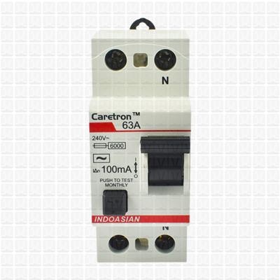 Caretron 63 Amp Double Pole 300 mA RCCB