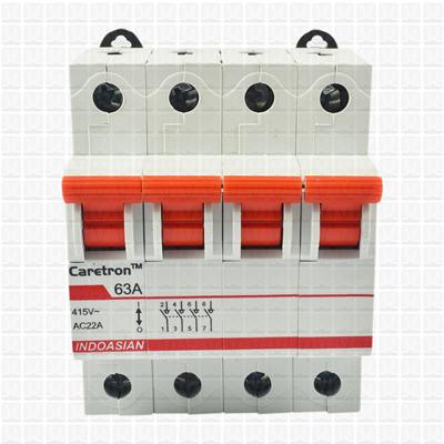 Caretron 63 Amp Four Pole Isolator
