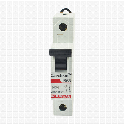 Caretron 63 Amp Single Pole MCB