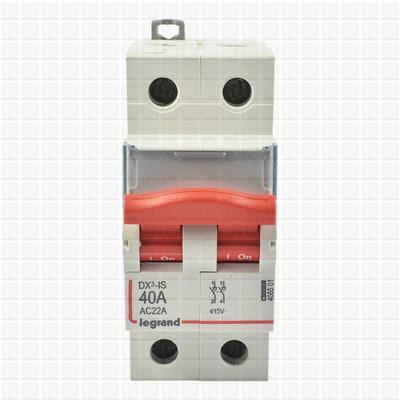 Legrand RX3 40 Amp Double Pole Isolator