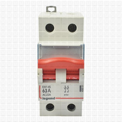 Legrand RX3 63 Amp Double Pole Isolator