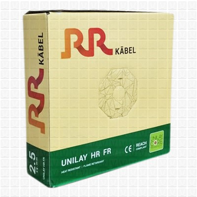 RR 2.5 mm Wire Yellow UNILAY (90 Mtr./Bundle)