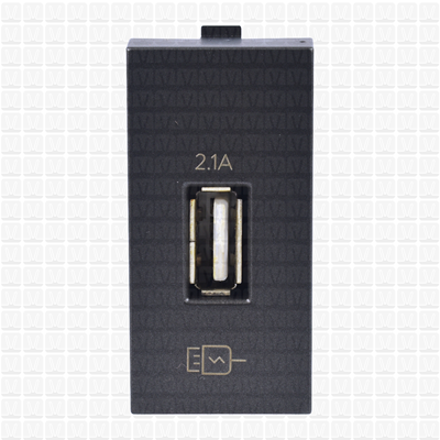 Simon S38 Graphite USB Charger