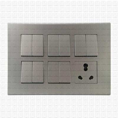 Simon S38 Silver Modular Plate 12M