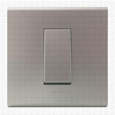Simon S38 Silver Modular Plate 1M