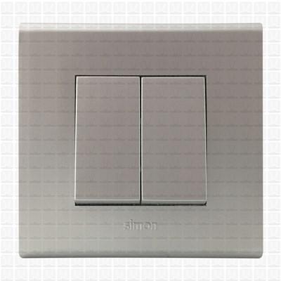 Simon S38 Silver Modular Plate 2M