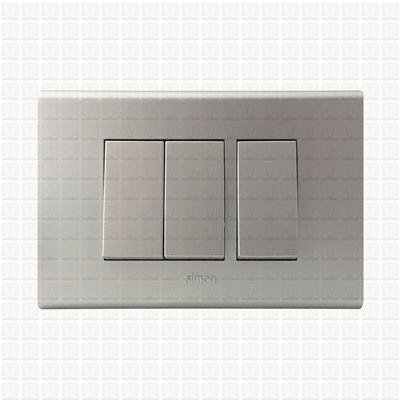 Simon S38 Silver Modular Plate 3M