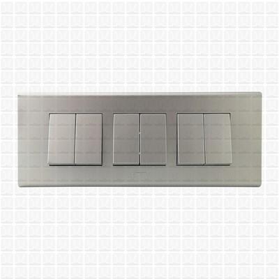 Simon S38 Silver Modular Plate 6M