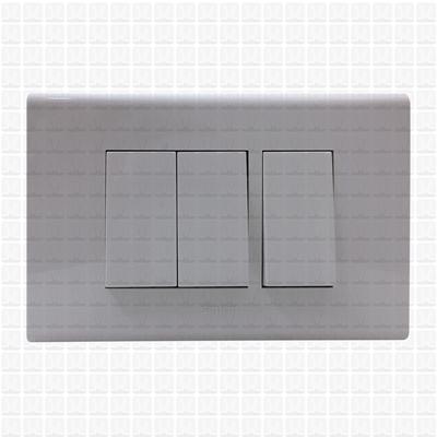 Simon S38 White Modular Plate 3M