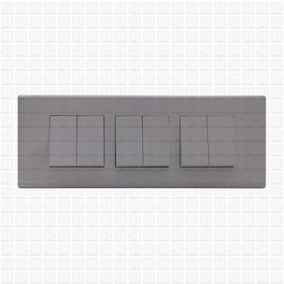 Simon S38 White Modular Plate 6M